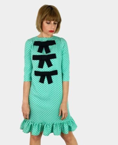 vestido lazos
