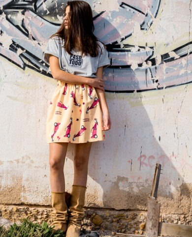 falda mujer bomba