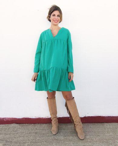 Vestido verde que te quiero verde