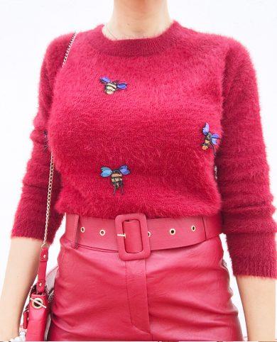 Jersey abejorros rojo