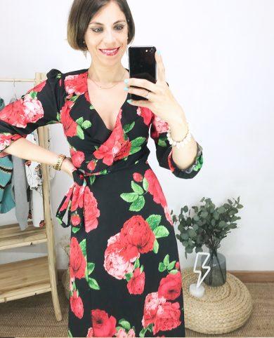 Vestido amapolas
