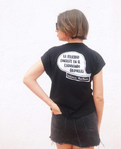 Camiseta la felicidad