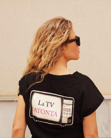 Camiseta la tv atonta