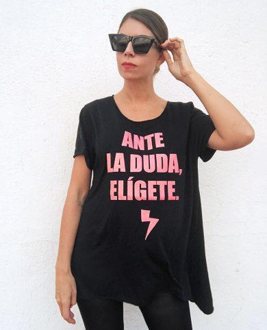 Camiseta ante la duda elígete